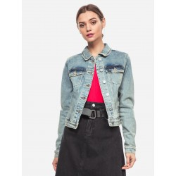 GUESS Giacca in Jeans blu