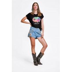 SHOP ART T-shirt Nera