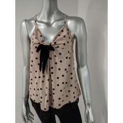SCEE BY TWIN-SET Top a pois...